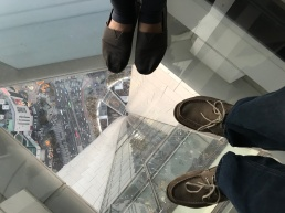 Looking down from Lotte Tower