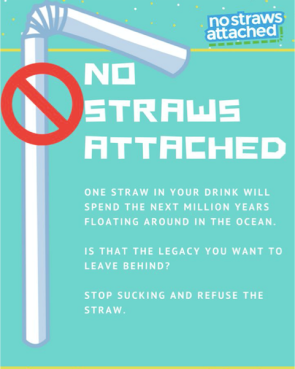 No Straws Attached